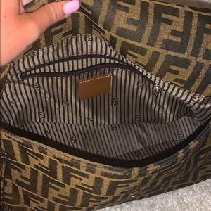 Fendi Bags - vintage Fendi baguette zuca canvas shoulder bag